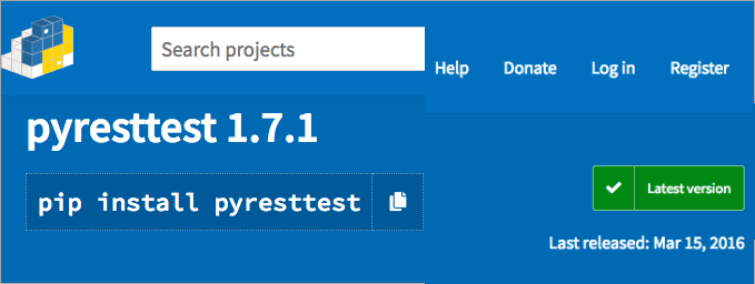 Pyresttest