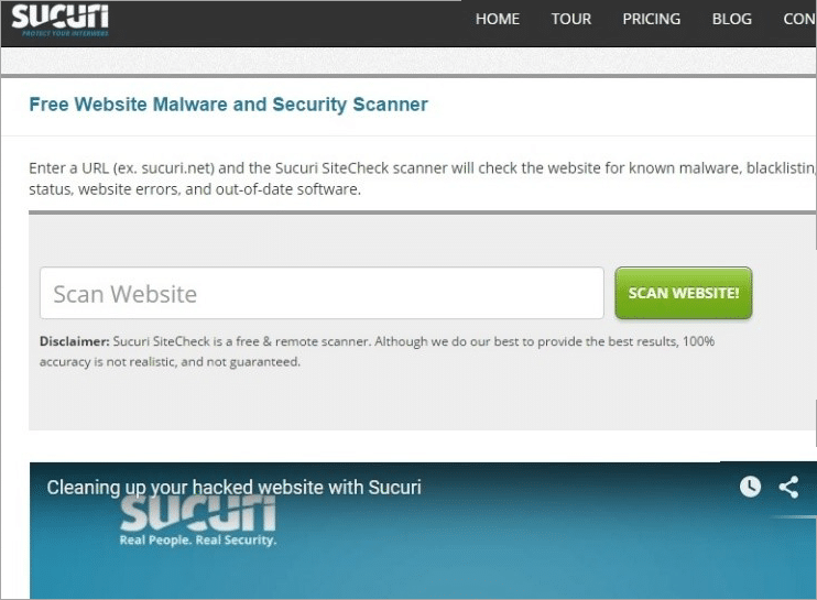 10 Most Popular Website Malware Scanner Tools in 2019