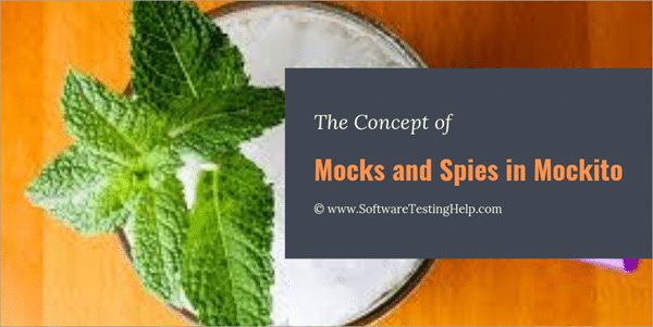 Creating Mocks and Spies in Mockito with Code Examples