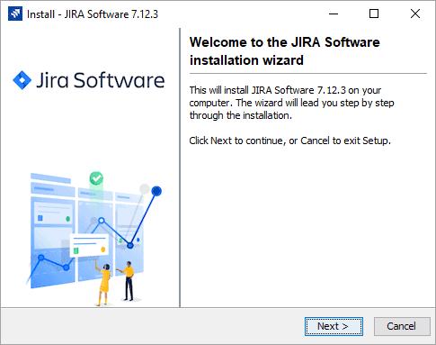 jira installation wizard