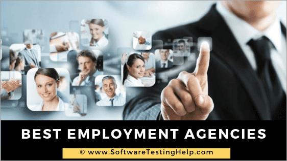 Best Employment Agencies