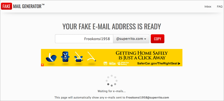 10 Best FAKE EMAIL Generators (Get Free Temp Email Address)