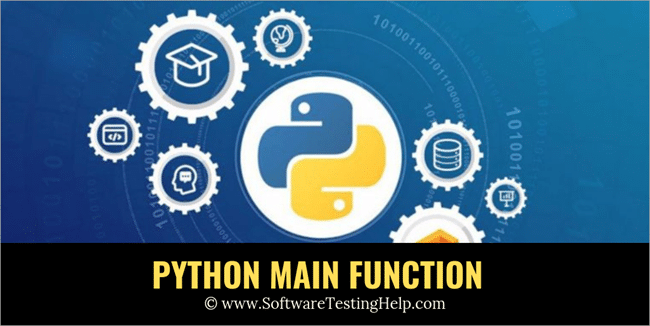 Python main function tutorial