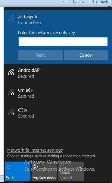 wireless network connection settings for windows-1