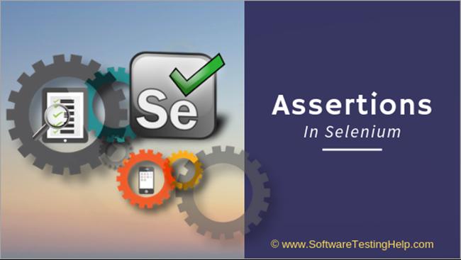 Assertions in Selenium