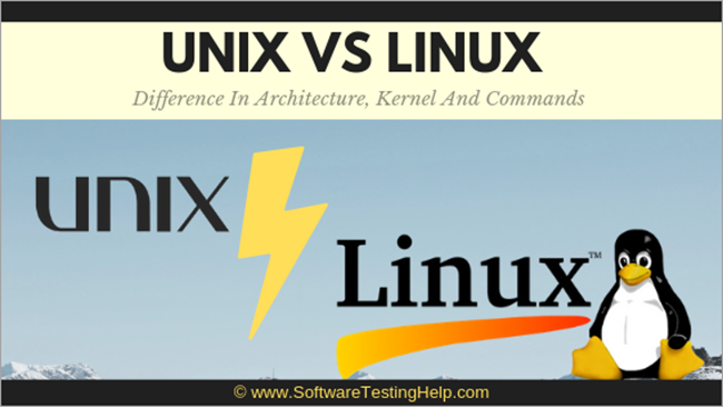 Unix Vs Linux: What is Difference Between UNIX and Linux