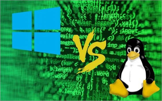 Differences between Linux vs Windows