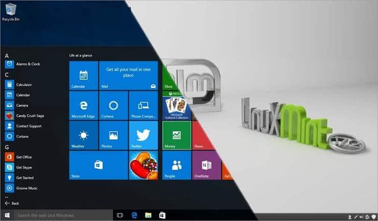 Linux vs Windows 10