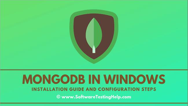 Mongodb in windows