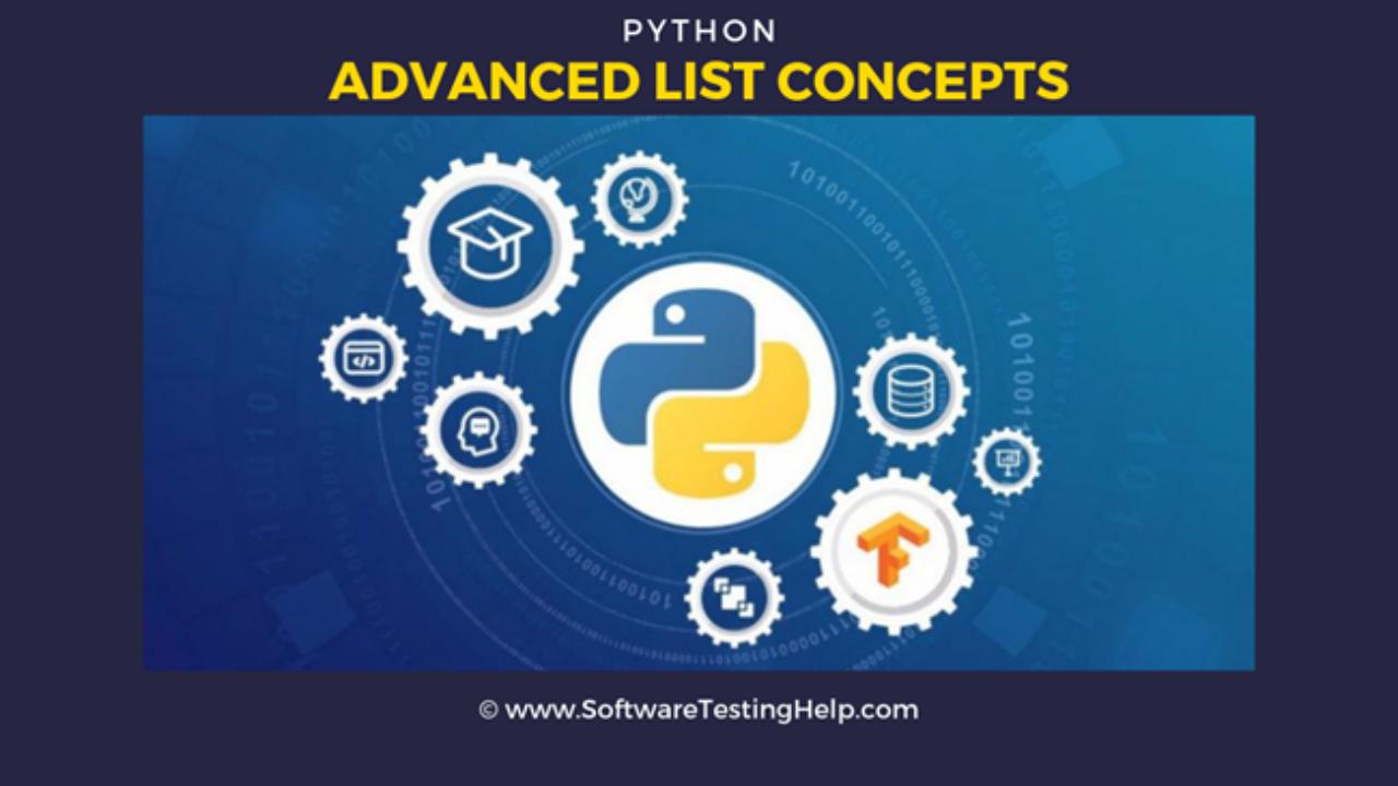 Python Advanced List Tutorial List Sort Reverse Index Copy Join Sum