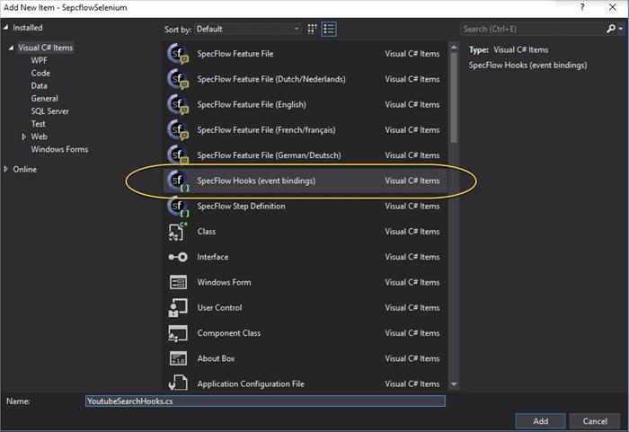 Adding Hooks File