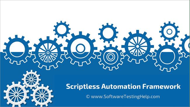 Scriptless Automation Framework