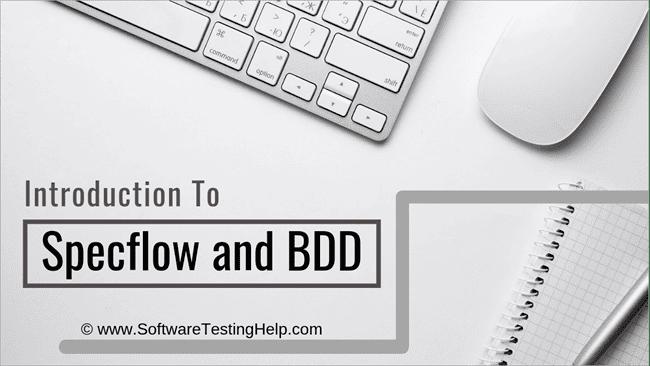 Specflow and BDD