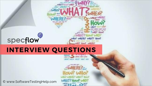Specflow interview questions