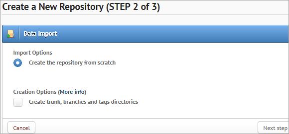 Create Repository from Scratch
