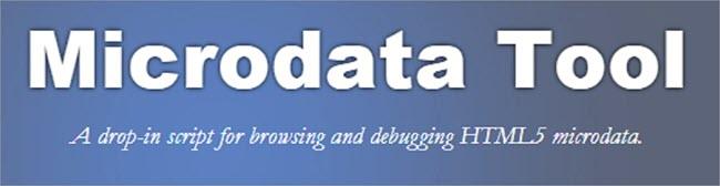 Microdata Tool