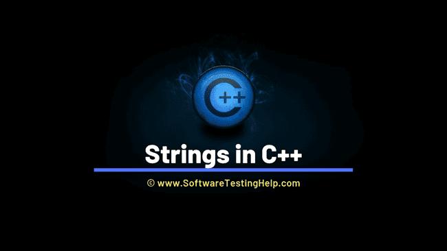 Strings in C++