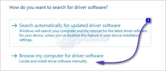 browse for drivers
