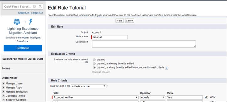 edit rule tutorial