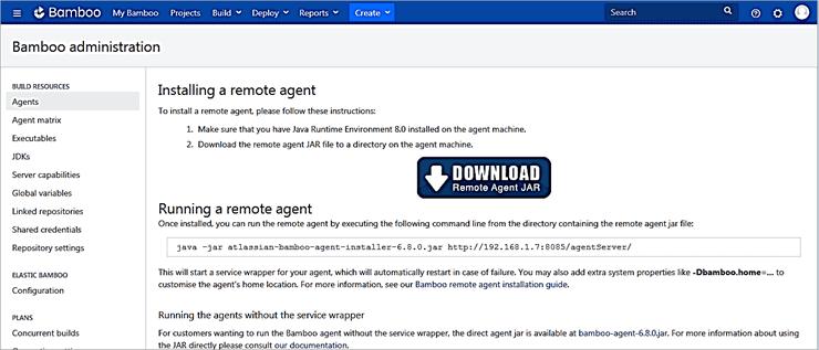 Download the Remote Agent JAR file