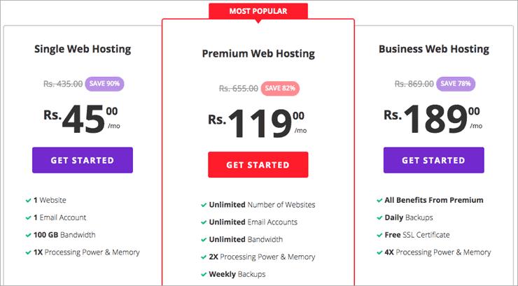 Top 10 Best Web Hosting For India Websites in 2019