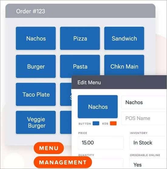 Menu Management