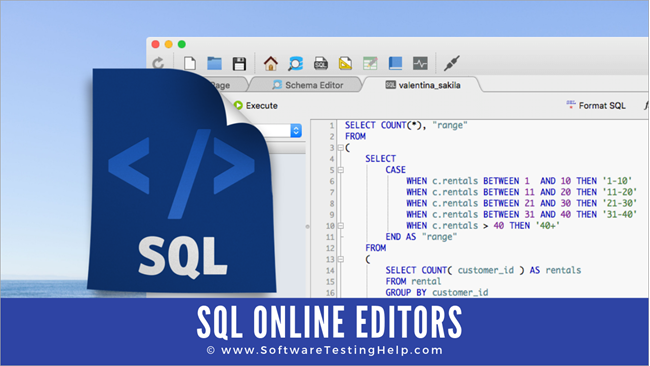 Top 10 Best Online SQL Editors in 2019