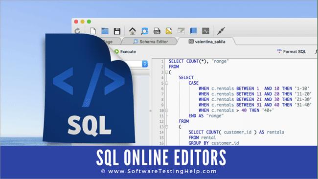 ONLINE SQL EDITOR