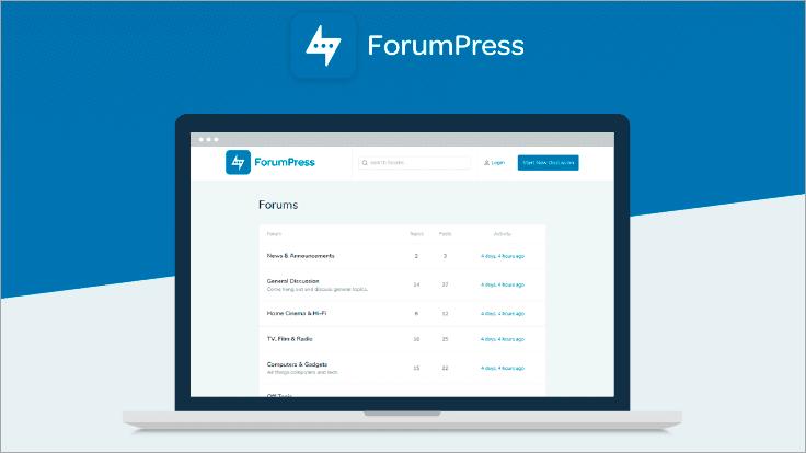 WordPress Forum Theme