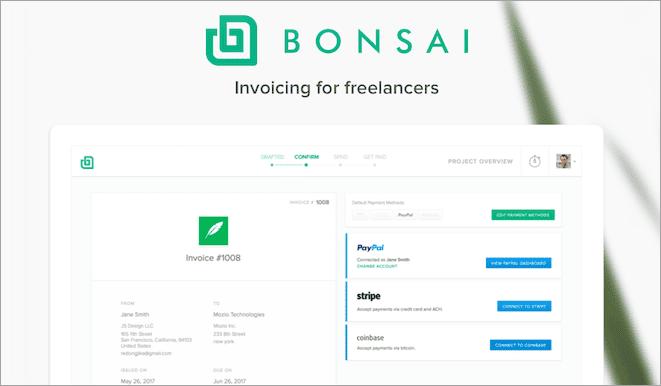 Bonsai Invoicing