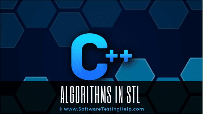 ALGORITHMS IN STL
