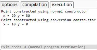 Operartor Overloading Output