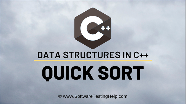 Quick Sort In C++ With Examples