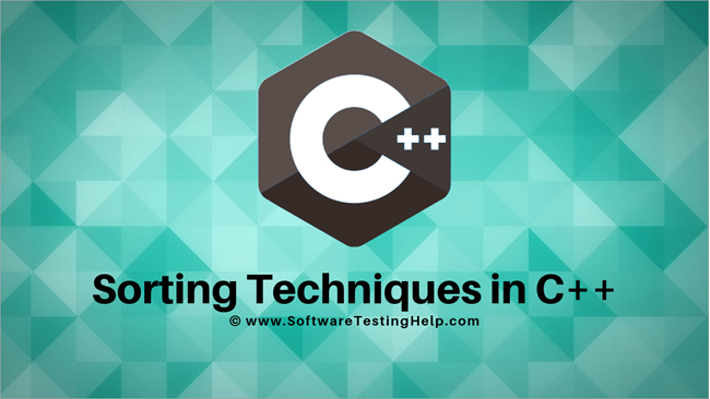 Sorting Techniques in C++