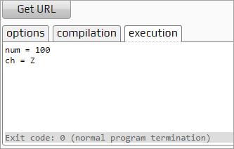 encapsulation output