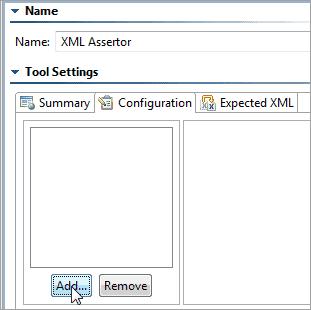 Configure XML Assertor