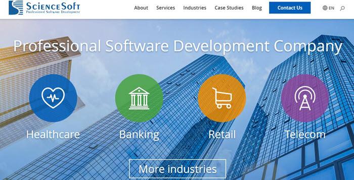 ScienceSoft services