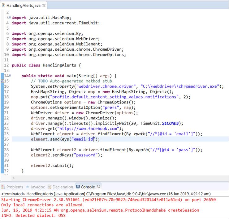 ChromeDriver Selenium Tutorial: Selenium Webdriver Tests on