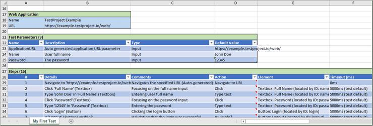 Autogenerated Test Document