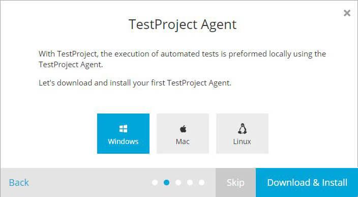TestProject Agent