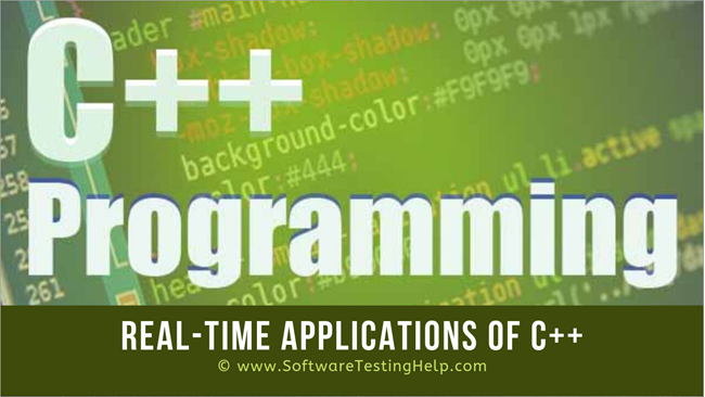 Real-Time Applications Of C++