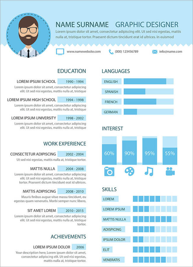 Graphic Design Resume Guide Example And Templates For 2020