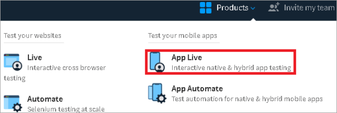 Testing Native Application