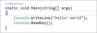 """Console.ReadKey()"" method"