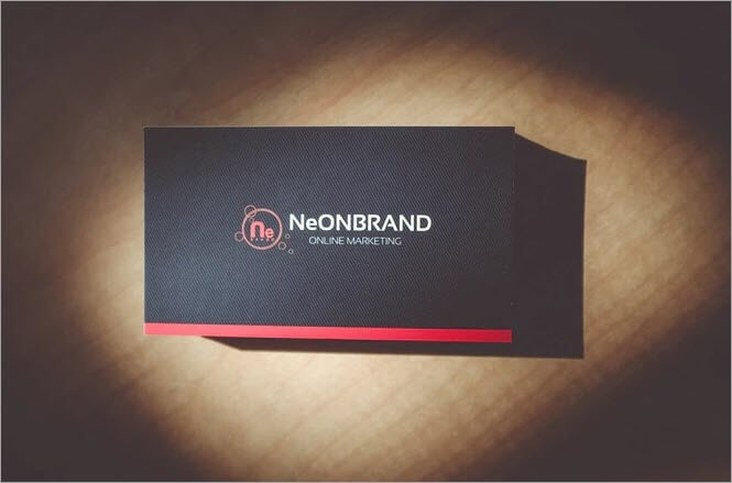 Business Card - Example