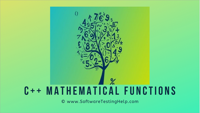 C++ Mathematical functions