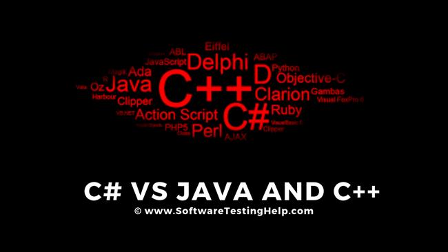 C# Vs C++ And C# Vs Java