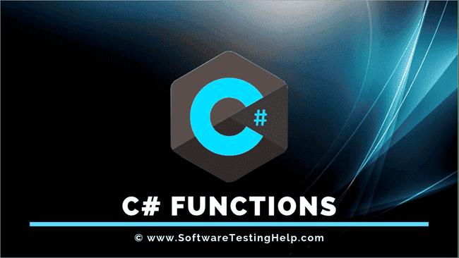 C# Functions