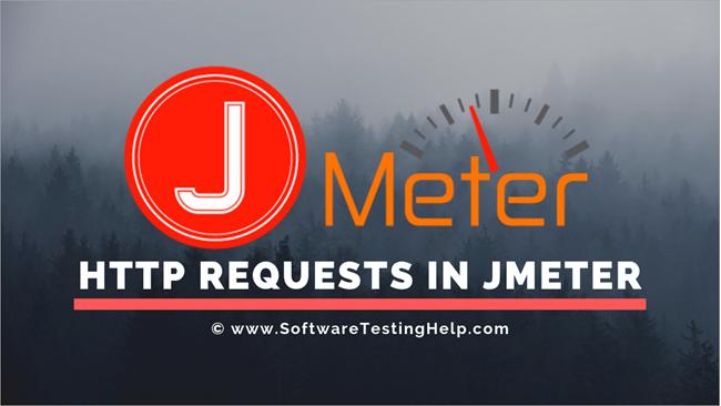 HTTP Requests in JMeter