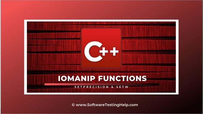 IOMANIP Functions